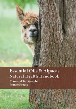 Essential oils and Alpaca Natural Health Handbook image written by Jeanne Krause & Dave and Teri Grembi.
