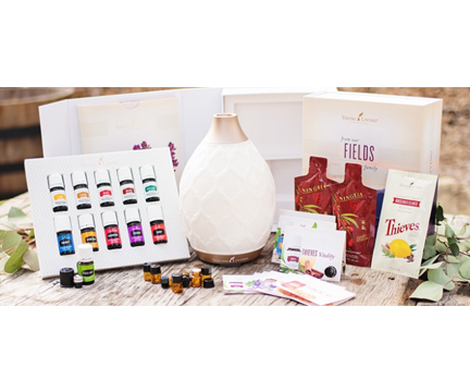 The Premium starter kit with 12 oils and Diffuser.